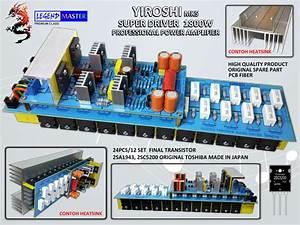 Power Amplifer Yiroshi