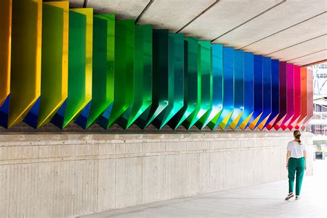 Liz West Unveils Her First Permeant Installation Colour ...