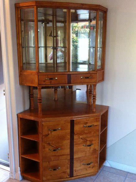 build your own china cabinet build your own corner china cabinet plans diy free