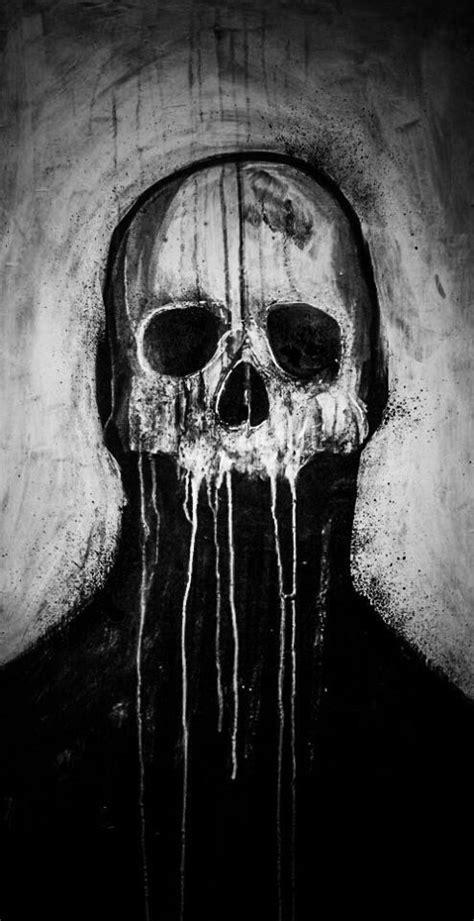 Silhouette Skulls Pinterest
