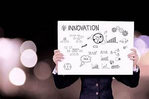 Person Holding Innovation Plan Board  U00b7 Free Stock Photo
