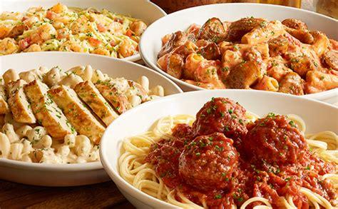 olive garden pasta cucina lunch dinner menu olive garden italian