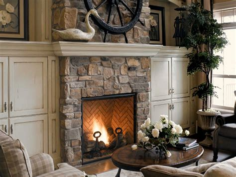 Synthetic Rock Siding Stacked Stone Veneer Fireplace