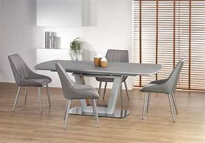 Raul, Light, Grey, And, Walnut, Extending, Dining, Table, 160cm
