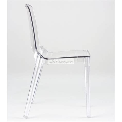 chaise de bureau design et confortable chaise transparente design