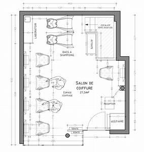 helene serey amenagements salons de coiffure haut de gamme With delightful plan de maison a etage 7 maison en bois sur mesure detail du plan de maison en