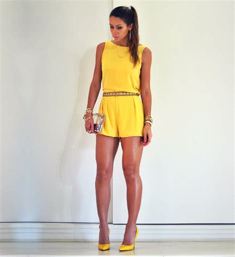 womens yellow jumpsuit 21 fabulous jumpsuit trends for 2014 pretty designs