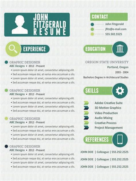 innovative resume templates free the innovative
