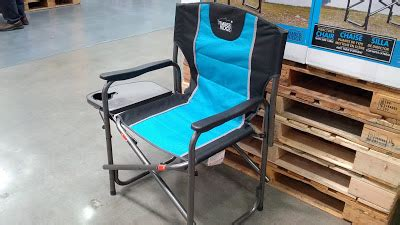 Timber Ridge Cing Chair With Table by Timber Ridge Director S Chair With Side Table Costco