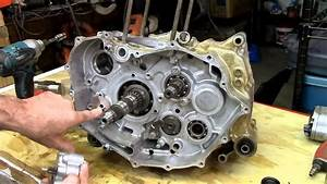 Honda Rancher Crankshaft Part 2 Of 4 Engine Rebuild