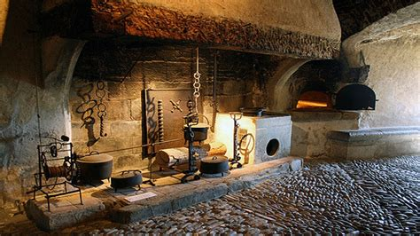 black kitchen table set medieval castle kitchen