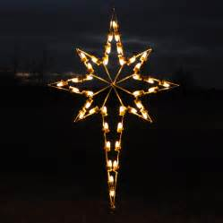 shop holiday lighting specialists 4 75 ft star of bethlehem outdoor christmas decoration with