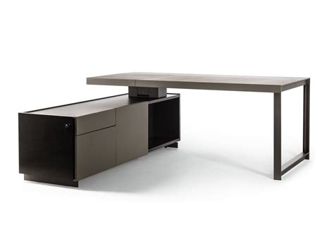 Jobs President Desk Small By Poltrona Frau