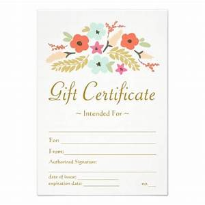 25 best Gift Certificate Templates images on Pinterest ...