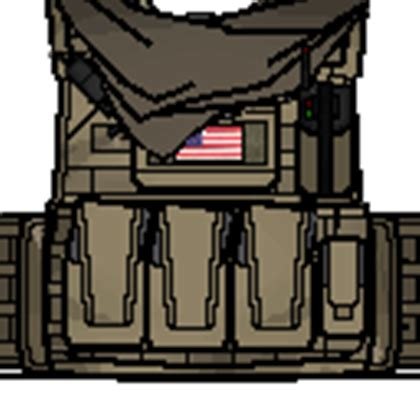 Roblox Tactical Vest Template