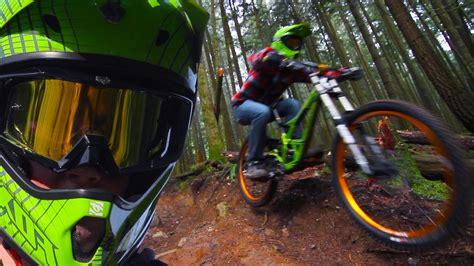 Downhill Mountain Biking Forest
