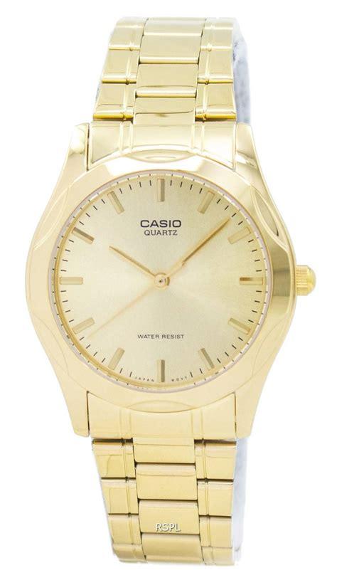 Casio Quartz Mtp 1183a casio quartz analog gold plated mtp 1275g 9adf mtp 1275g