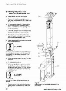 Atlas Copco Mb1700  U0026 Mb1700dp Hydraulic Breakers Pdf