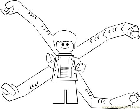 lego  ock coloring page  lego coloring pages