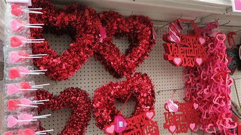 valentines day decor candy  big lots hobby lobby