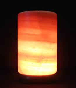 large himalayan natural salt rock light l ionic crystal