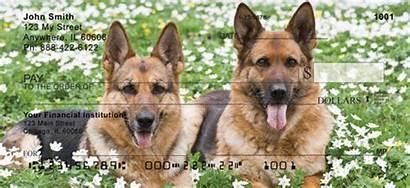 Checks Shepherd German Personal Dog Check Designs