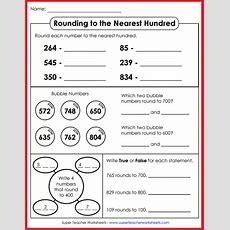 Rounding Worksheets