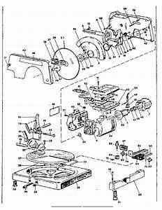 Craftsman Craftsman 8 1  4 Inch Compound Miter Saw Parts