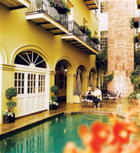 Hotels With Balconies New Orleans by Bienville House French Quarter Courtyard Oasis
