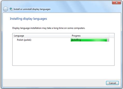 jak zmienić język w windows 7