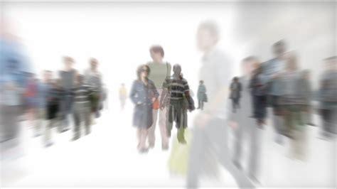 isolated crowd  people walking   alpha youtube