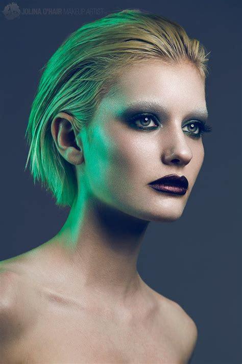model izzy muahair jolina ohair makeup artist
