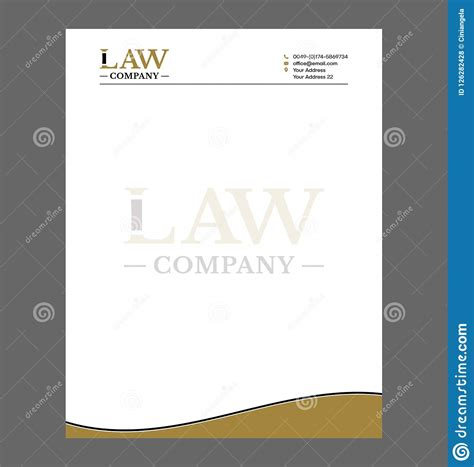 law firm attorney letterhead template lawfrim