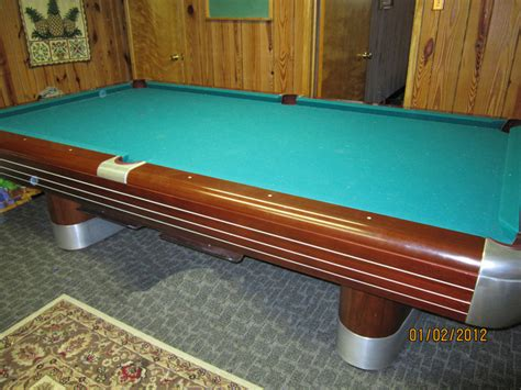 pool tables with ball return for sale 9 foot brunswick anniversary pool table for sale