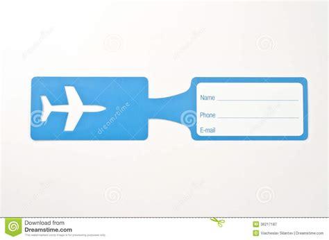 luggage tag stock image image  frame label card