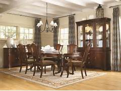 9Pc Legacy Classic American Traditions Dining Room Set