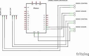 Photon  Blynk Garage Door Controller - Project Share