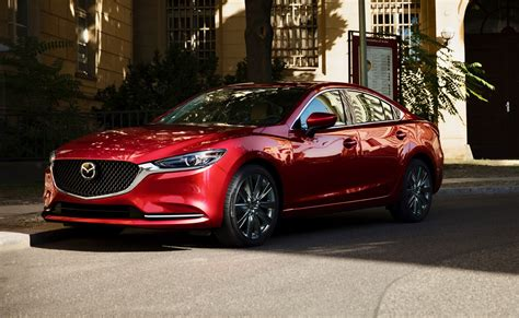 2018 Mazda6 Gets A Facelift And A 250hp Turbo The
