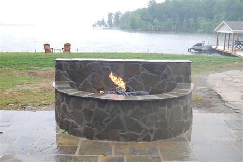 outdoor fireplace vs pit bluestone fire pit ask the landscape guy
