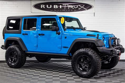 chief blue jeep 2017 jeep wrangler rubicon unlimited chief blue