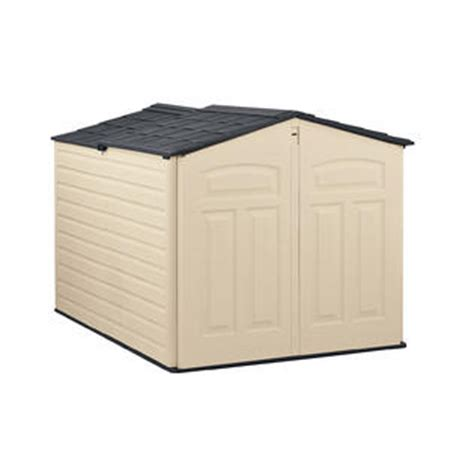 slide lid shed organize the yard with sears