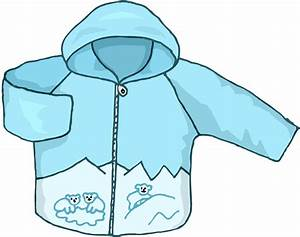 Clipart Winter Jacket - Clipart Bay