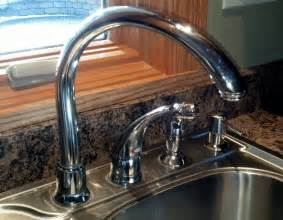 repair moen kitchen faucet how to fix leaking moen high arc kitchen faucet diy