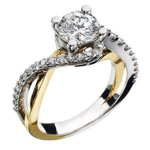 yellow gold engagement rings white and yellow gold cut engagement ring engagement rings review