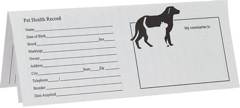 Printable Puppy Vaccination And Worming Record