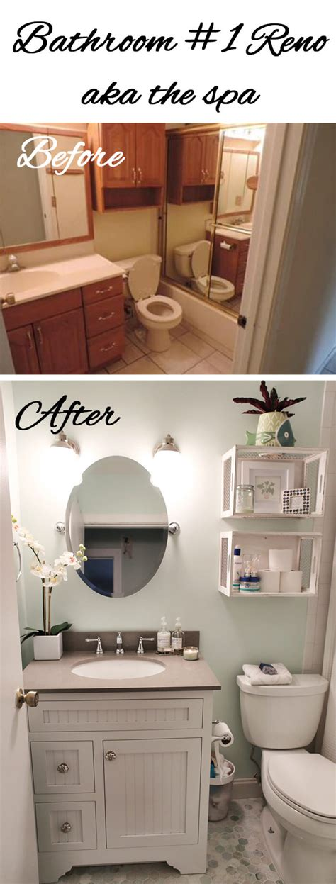 Bathroom Makeovers On A Budget Before And After by 28 Best Budget Friendly Bathroom Makeover Ideas And