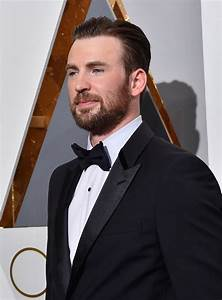 Chris Evans brings his sister to the 2016 Academy Awards ...  Chris