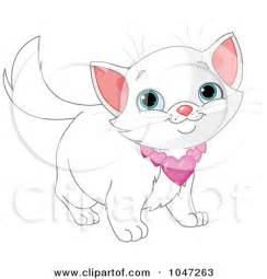 Cute Kitten Clip Art