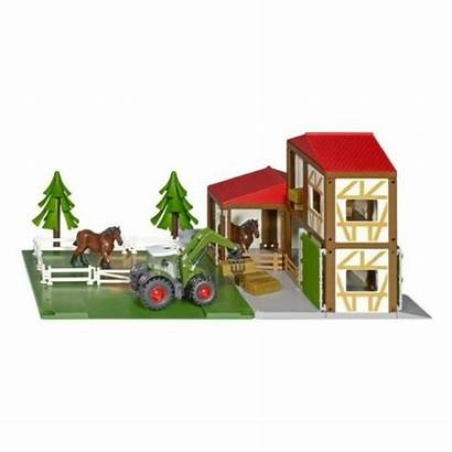 Siku Farm Horse Stable Ecurie Horses Chevaux