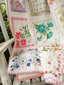 Vintage, Creations, How, To, Repurpose, Old, Handkerchiefs